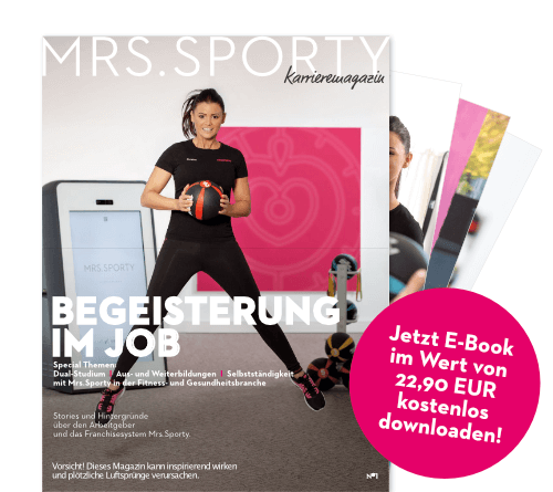 E-Book Karriere Jobs und Chancen bei Mrs.Sporty Franchise