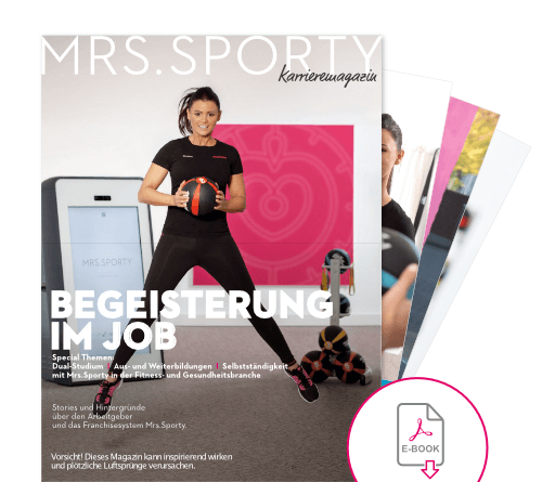 E-Book Chancen Karriere mit Mrs.Sporty