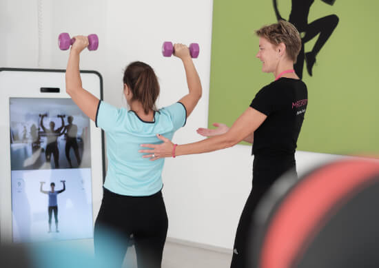 Mrs.Sporty Franchisepartnerin im Fitnessstudio